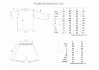 Fodbold størrelser