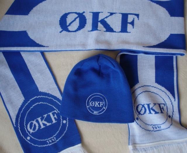 ØKF - hue + halstørklæde