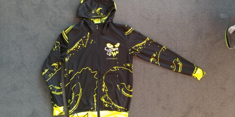 Sublimeret hoodies