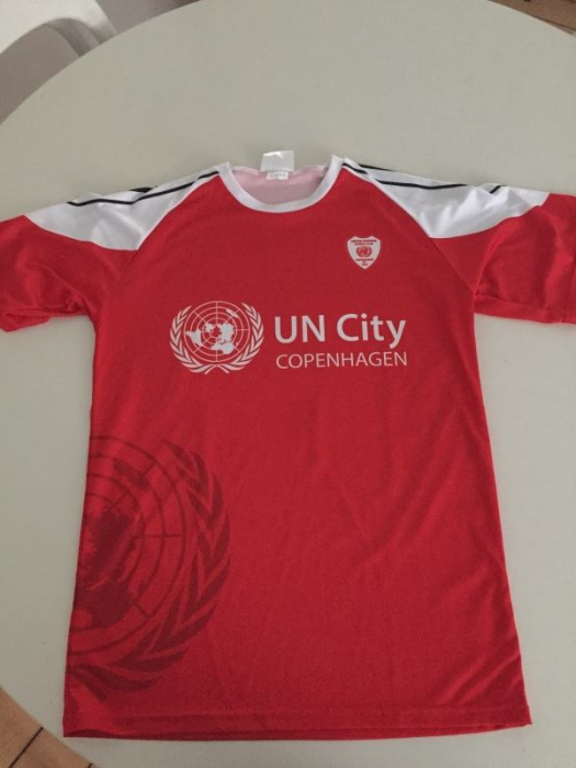 United Nations football jersey