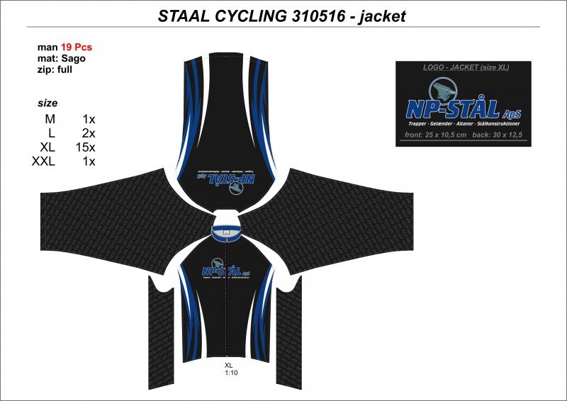 Cykletrøjer Staal