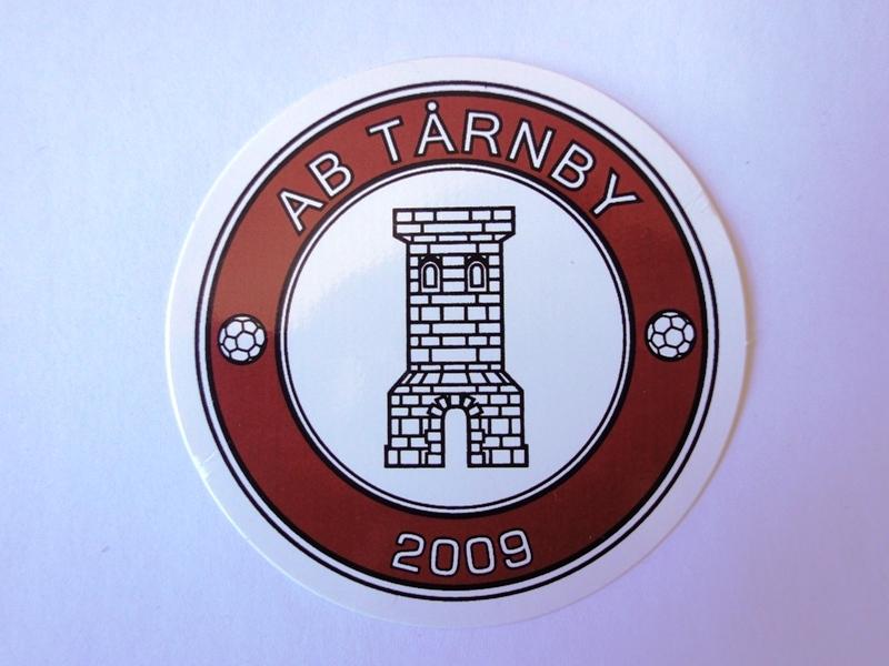 Klistermærke AB Tårnby