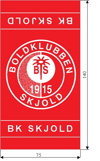 Badehånklæder BK Skjold