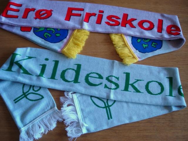 Ærø + Kildeskolen - halstørklæder