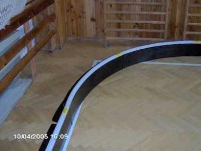 Wheelchair ishockey bane